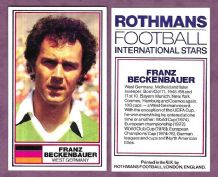 West Germany Franz Beckenbauer Bayern Munich (RT1)